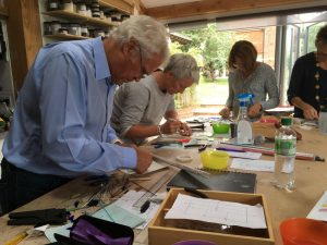 Weekend design and make - glass fusion workshop @ Near Winchester