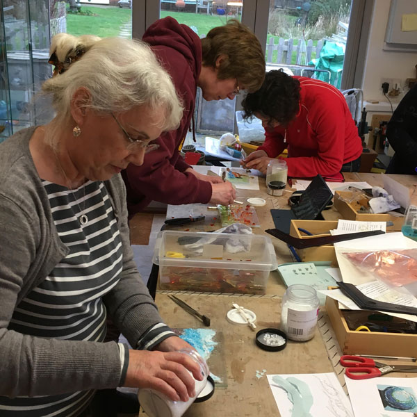 Weekend design and make - glass fusion workshop