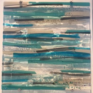 Sue Tinkler Luskentyre Glass Wall Art