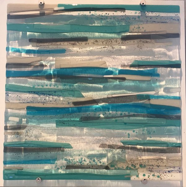 Sue Tinkler Luskentyre Glass Wall Art